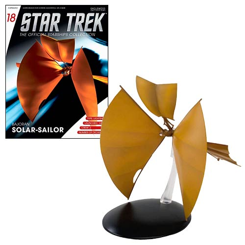 Eaglemoss Star Trek #018 Bajoran Light Ship Starship